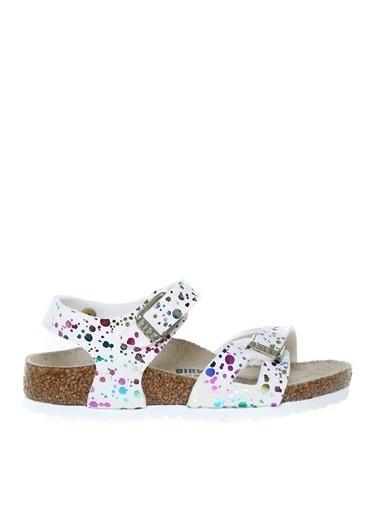 Birkenstock Birkenstock 1019743 Rıo Kıds Mf Çok Renkli Sandalet Renkli
